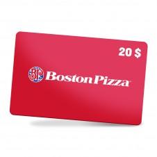 Boston Pizza 20$