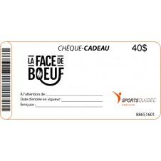 Chèque cadeau La Face de Boeuf-40